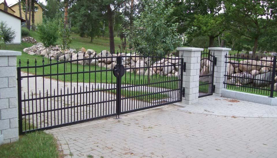 DE ogrodzenia standardowe